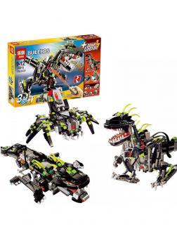 Конструктор Lp Builerds «Гигантский моторизированный динозавр» 24010 (Creator 4958) 792 детали