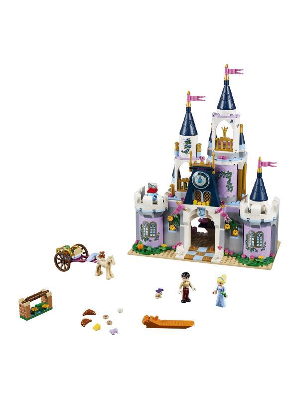 Конструктор Queen «Волшебный замок Золушки» 85012 (Disney Princess 41154) 655 деталей
