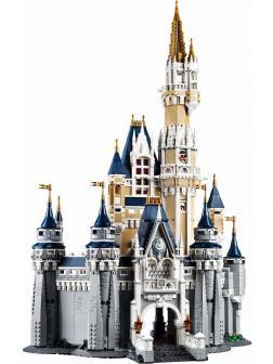Конструктор King «Сказочный Замок Дисней» 83008 (Disney Princess 71040) 4080 деталей