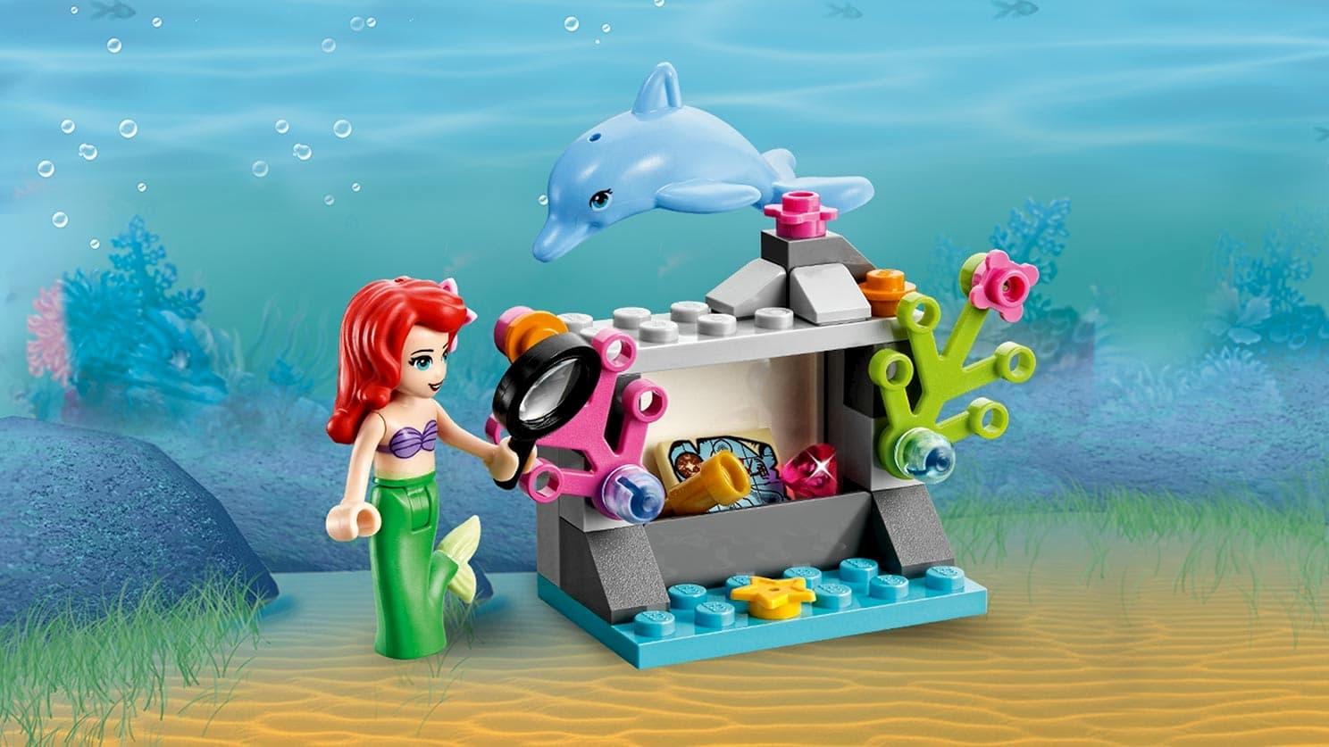 Конструктор Lp «Подводный дворец Ариэль» 25016 (Disney Princess 41063) / 379 деталей