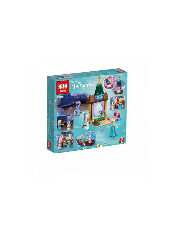 Конструктор Lp «Приключения Эльзы на рынке» 25015 (Disney Princess 41155) 140 деталей